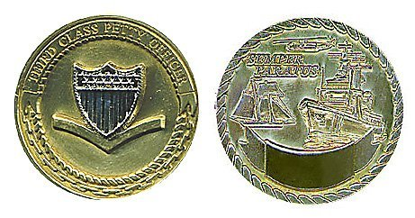 Coast Guard Petty Officer 3rd Class Challenge Coin
