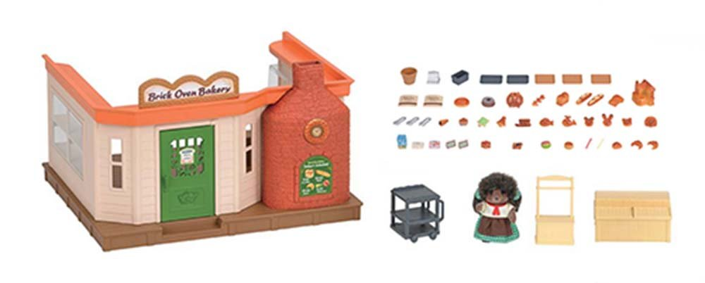 Calico Critters Brick Oven Bakery International Playthings CC1723