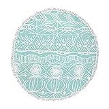 KESS InHouse Catherine Holcombe Bingo Round Beach Towel Blanket