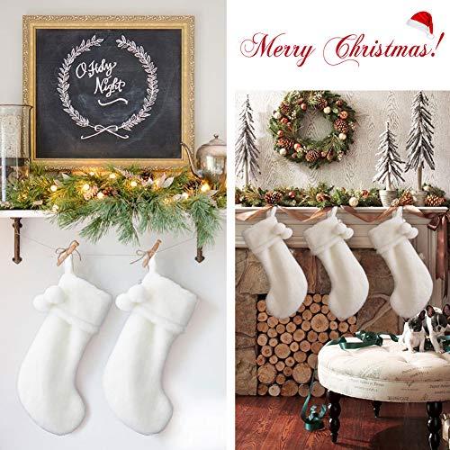 Fur Christmas Stocking Soft - O-Heart 23