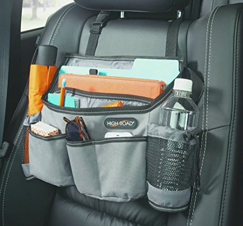 - High Road SwingAway Car Front Seat Organizer (Gray)