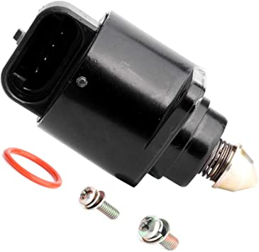 FINDAUTO 2H1083 Idle Air Control Valve idle speed control valve fit for 2004 2005 2006 Chevrolet Aveo 1999 2000 2001 2002 Daewoo Lanos