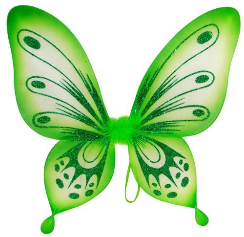 Fairy Wings Baby (Green Sparkling Fairy Princess Wings)