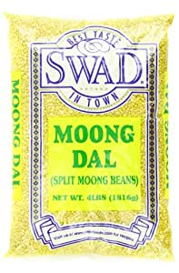 Swad Moong Dal Beans, Split, 4 Pound