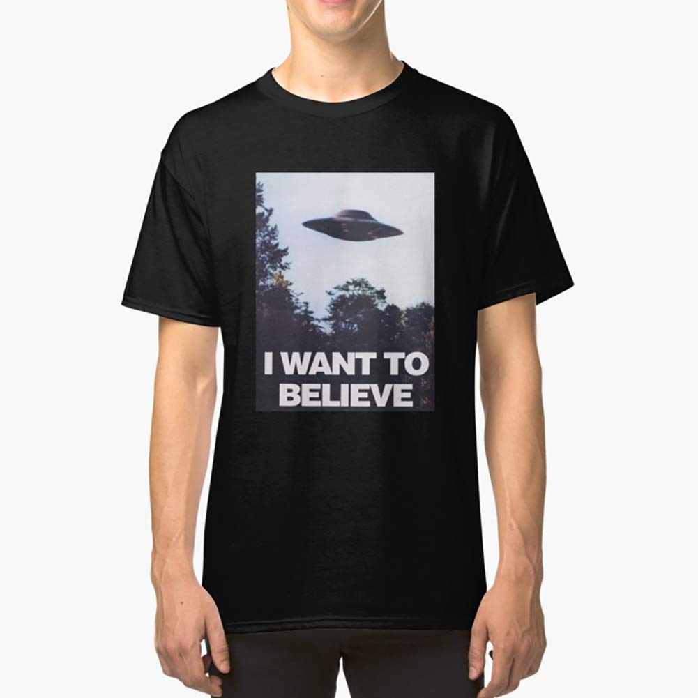 Hoodie for Men Tee shirt The XFiles I Want To Believe Classic TShirtT Shirt Premium Women Unisex Full Size.