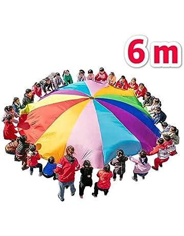 da89ca1d3115 Kikilive Paracaídas para niños,Juego de paracaídas para niños de 6 a 12  Juegos cooperativos