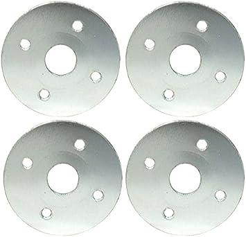 4 pack Allstar Performance Aluminum Scuff Plate Allstar