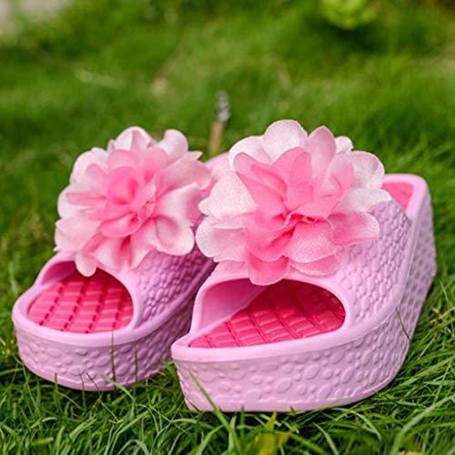 Vovotrade Passeggio Casual A ✞estate Sandali Rosa Pantofole Unisex Da Esterno Flats Traspiranti Beach Moda Infradito rr8zqUxB