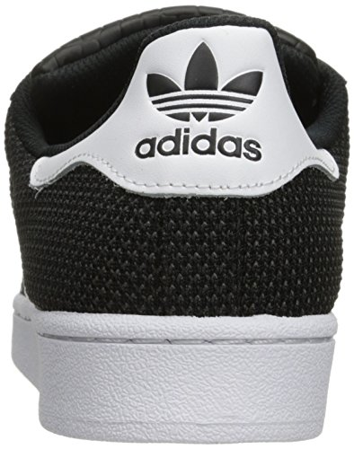Adidas Originals Mens Superstar Skatesko Svart / Vit / Vit