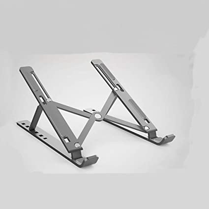 Laptop Stand Saves Space Universal Lightweight Folding Portable Aluminum Mobile Base