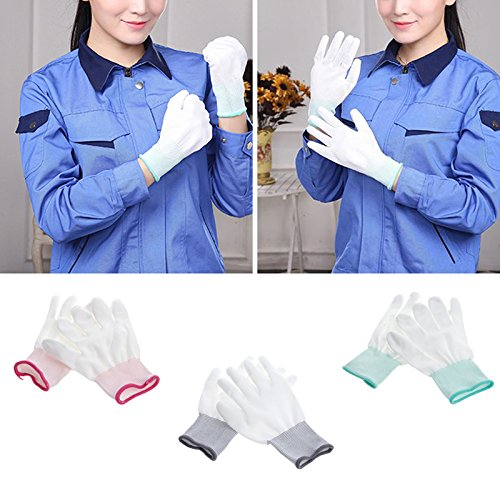 Techinal 10 Pair Anti Static Antiskid Glove for PC Computer ESD Electronic Working Repair Gloves 8.66'' x 3.94'' by Techinal (Image #6)