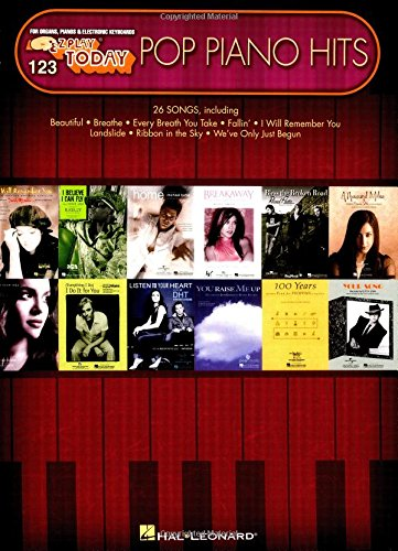 Pop Piano Hits: E-Z Play Today Volume 123