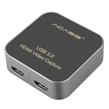 Acasis AC-HDCP USB 3,0 HDMI a Tipo C 1080 P HD Caja de Tarjeta