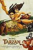 TARZAN MOVIE POSTER 2 Sided ORIGINAL INTL FINAL 27x40 DISNEY