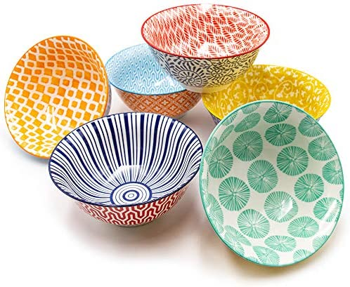 KitchenTour Porcelain Bowls Packs Assorted product image