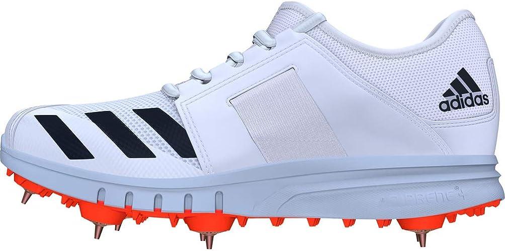 adidas Howzat Spike Cricket Shoe Size 12.5 White : Amazon.ca ...