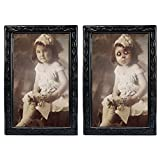 KOBWA Halloween Lenticular 3D Changing Face Horror Portrait Haunted Spooky Halloween Decorative Painting Frame Props
