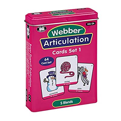 Super Duper Publications | Articulation S Blends Fun Deck | Vocabulary and Language Development Flash Cards | Educational Learning Materials for Children: Toys & Games