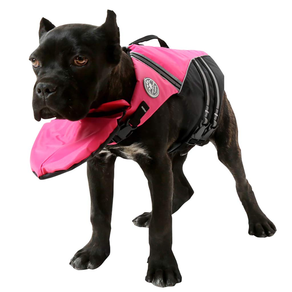 Red XS red XS Pet Life Jacket Pet Swimwear, Dog Safety Vest, Floating Life Jacket, Help The Dog's Buoyancy Predection Clothes Samoyed golden Retriever German Shepherd Husky Alaska