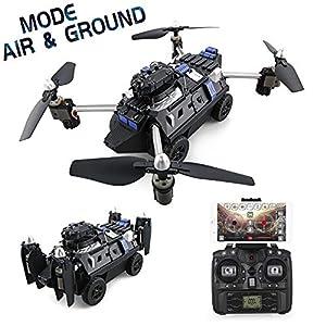 Goolsky JJR / C H40WH WiFi FPV 720P Macchina Fotografica 2.4G 6 Assi Giro Senza Testa Testa di Altezza RC Serbatoio RC Quadcopter 1 spesavip
