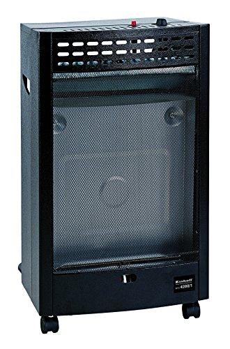 Einhell Gas Heizofen Blue Flame BFO 4200/1 (Heizleistung bis 4,2 kW, für handelsübliche Gasflaschen, Piezozünder, Gasdruckregler für Außenbereich)