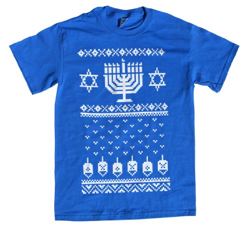 Ugly Christmas Sweater Hanukkah T-Shirt