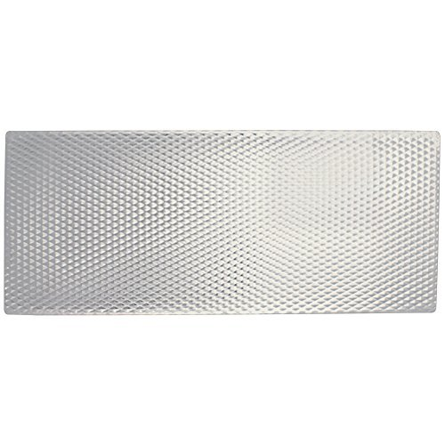 (Range Kleen Easy Clean Stove & Counter Top Mat w/Silver Non-Skid Textured Metal Surface)
