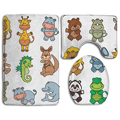 Amazon.com: Cartoon Lion Giraffe Elephant Seahorse Zebra