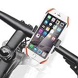 Smartphone Bike Mount, iKross Universal Rubber Strap Bike Bicycle Rack Handlebar Mount Holder Cradle with 360 Degrees Rotatable For Smartphone