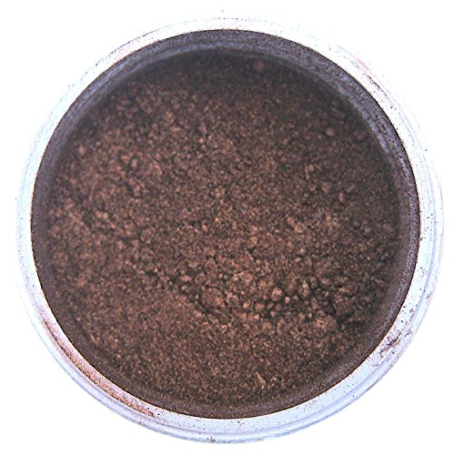 Brown Luster Dust, 4 gram container