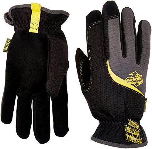 - Mechanix Wear MSF-05-011 Mech Speed Fit L11 Glove, X-Large, Black