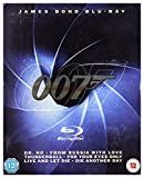 Dr. No / From Russia with Love / Thunderball / Live and Let Die / For Your Eyes Only / Die Another Day (BOX) [6Blu-Ray] [Region Free] (English audio. English subtitles)