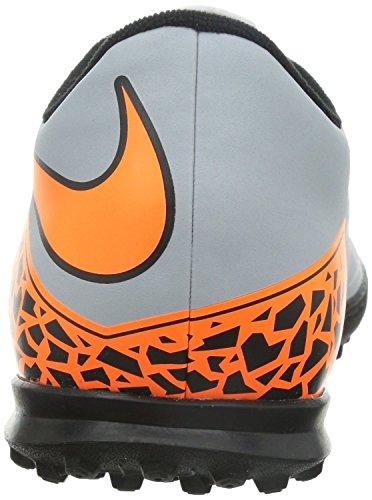 Nike 749891 - Zapatillas de fútbol sala de Material Sintético para hombre gris wolf grey/total orange-blk-blk (grigio/arancio) 42
