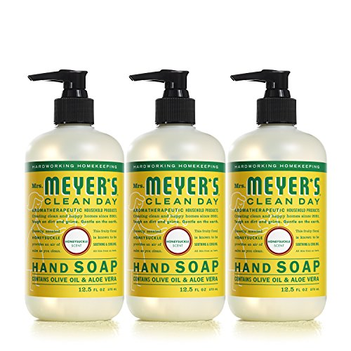 Mrs. Meyer´s Clean Day Hand Soap, Honeysuckle, 12.5 fl oz, 3 ct by Mrs. Meyer's Clean Day