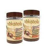 #3: Nekstella 16 oz. Sugar Free Low Carb Crunchy Chocolate Hazelnut Spread (2 Pack)