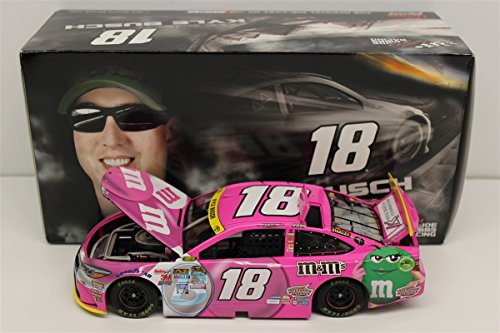 Kyle Busch 2015 M&M's Paint The Track Pink 1:24 Nascar Diecast