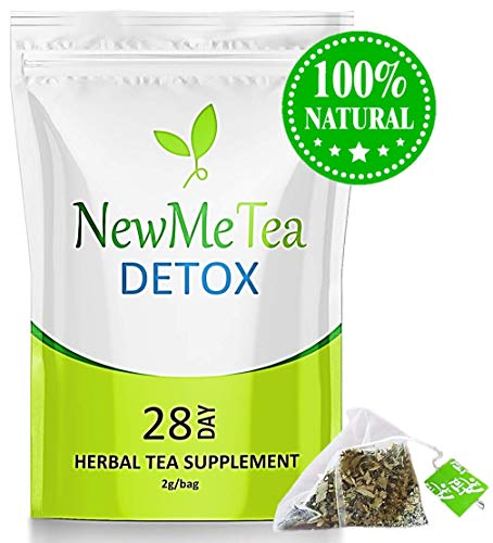 28 Day Detox Tea (Cleanse for Weight Loss & Belly Fat) Herbal Flat Tummy Tea to Slim Fast, Skinny Fit Body (Boost Metabolism + Energy, Bloating & Appetite Suppressant) For Men & Women (Best Herbal Tea For Detox And Weight Loss)