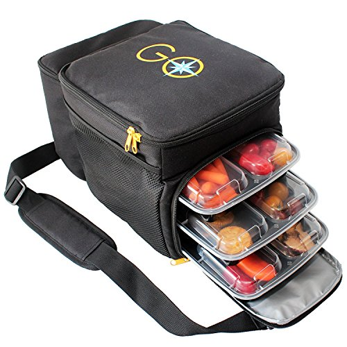 Portion Control Bento style Compartment Containers product image
