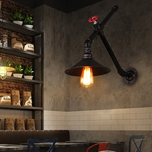 LED Wall Lights Minimalist Modern Industrial Wind Pipe Wall Lamps   for Decorating Living Room   Bedroom Cafe Tea Shop Clothing Store Bar KTV   Lighting Fixtures