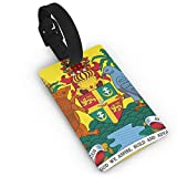 KODW12 Coat of Arms of Grenada Luggage Tag Travel Bag Labels Suitcase Bag Tag Name Address Cards