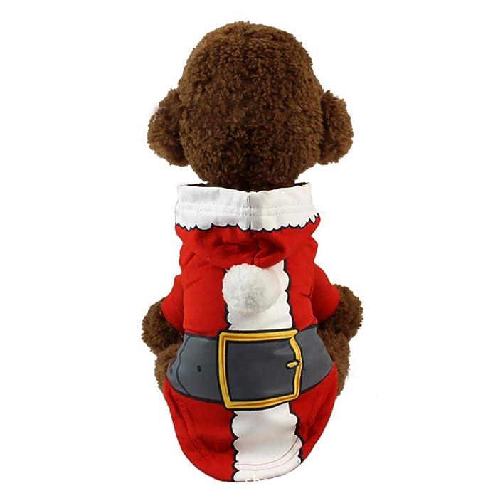 Amazon.com: Laimeng_World - Abrigo de Navidad para perro ...