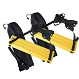 GOGO 2Packs X 12Rungs Durable Agility Ladder Training Soccer Drills with Carry Bag