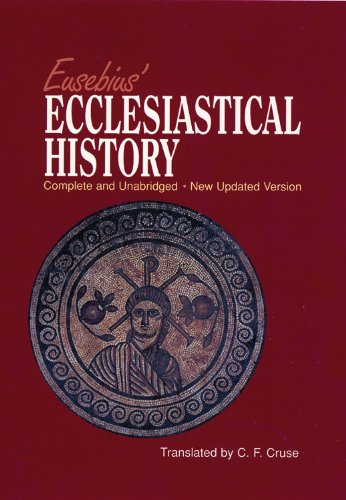 eusebius ecclesiastical history book review Although eusebius's history of the church would appear bias since it was written by a christian, it was much closer to the truth than the history we have today that are more factual the history we have today is a little inconsistent in that it only highlights the leaders and important men while forgetting the culture and life of the people.
