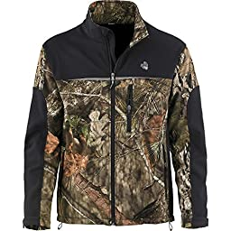 Legendary Whitetails Mens Hurricane Softshell Jacket Mossy Oak Country X-Large