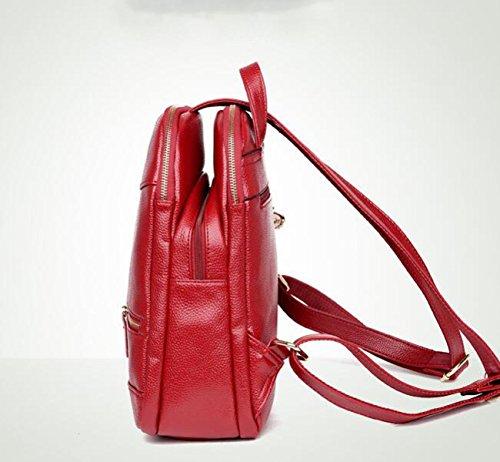 Paquete Femenino Coreano Moda Tendencia Mochila Salvaje Personalidad Bandolera Red