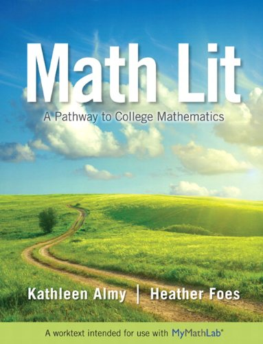 Math Lit Plus MyMathLab -- Access Card Package (Pathways Model For Math)