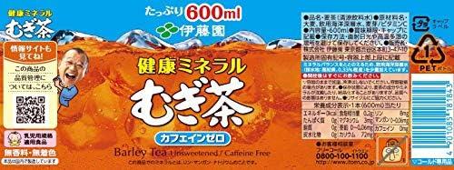 〔飲料〕 伊藤園 健康ミネラルむぎ茶 600mlPET 1ケース (1ケース24本入)(500・ペット)(麦茶)