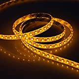Susay® Waterproof LED 3528 SMD 300LED 5M Flexible Light Strip 12V 2A 24W 60LED/M (Yellow)