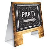 Creative Converting 325082 Here's the Party Sign, Here's the Party Sign
