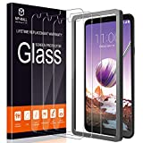 MP-MALL [3-Pack] Screen Protector for LG Stylo 4, [Alignment Frame Easy Installation] [Case Friendly] Tempered Glass with Lifetime Replacement Warranty